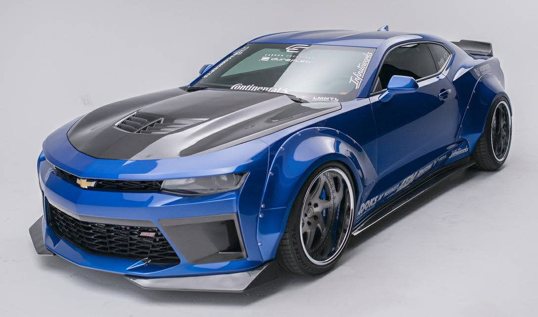 Bangshift Com This Widebody 2016 Camaro Ss Is A