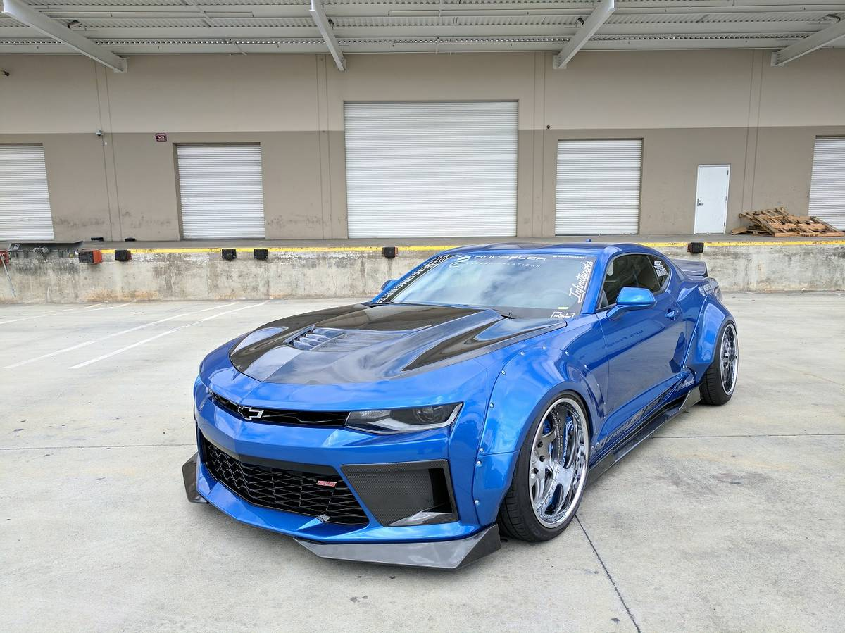 this widebody 2016 camaro ss is a. Black Bedroom Furniture Sets. Home Design Ideas