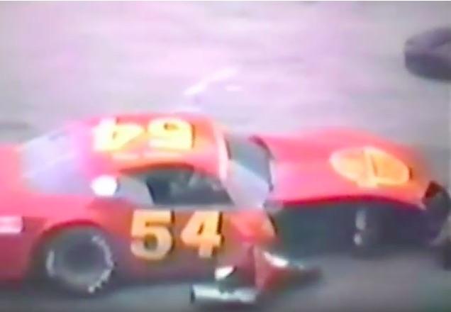 ASA Stock Car Racing Inside The Pontiac Silverdome Circa 1983 – Short Course, No Shortage Of Carnage