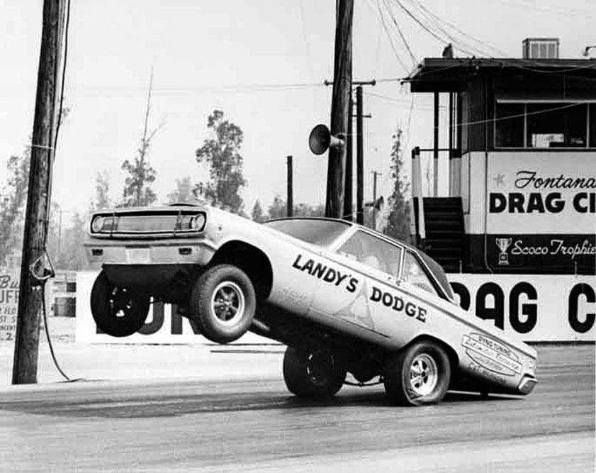 "As It Was • ""Dandy"" Dick Landy's A/FX Dodge Coronet 1965 Mopar Drag Team Photos!"