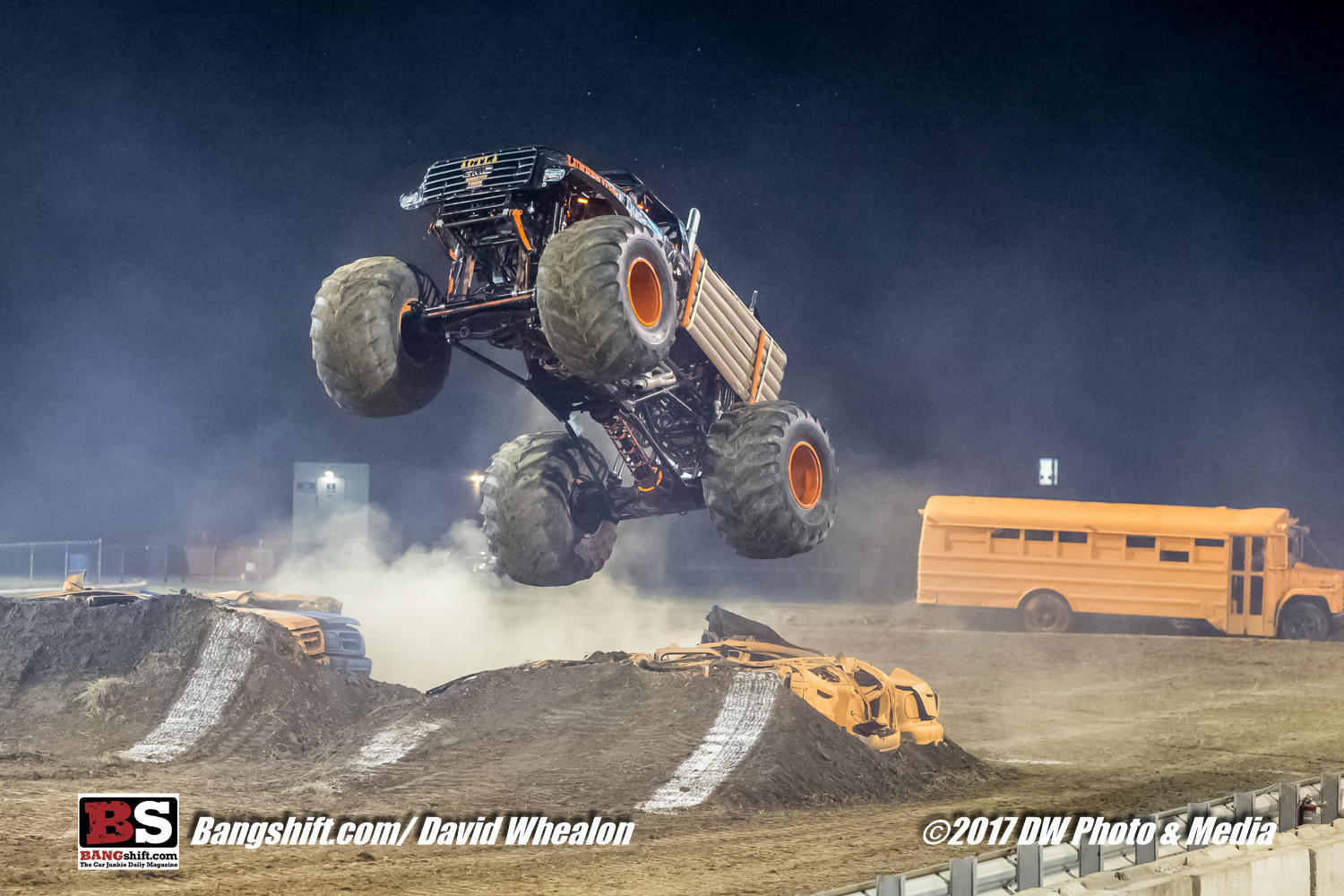 Monster Truck Action Coverage From GALOT Motorsports Park's Monster Truck Throwdown Event