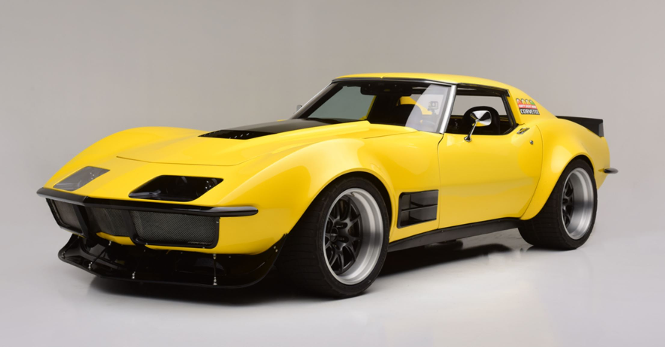 Ridetech's 48-Hour Corvette Is Going Up For Auction At Barrett-Jackson With No Reserve