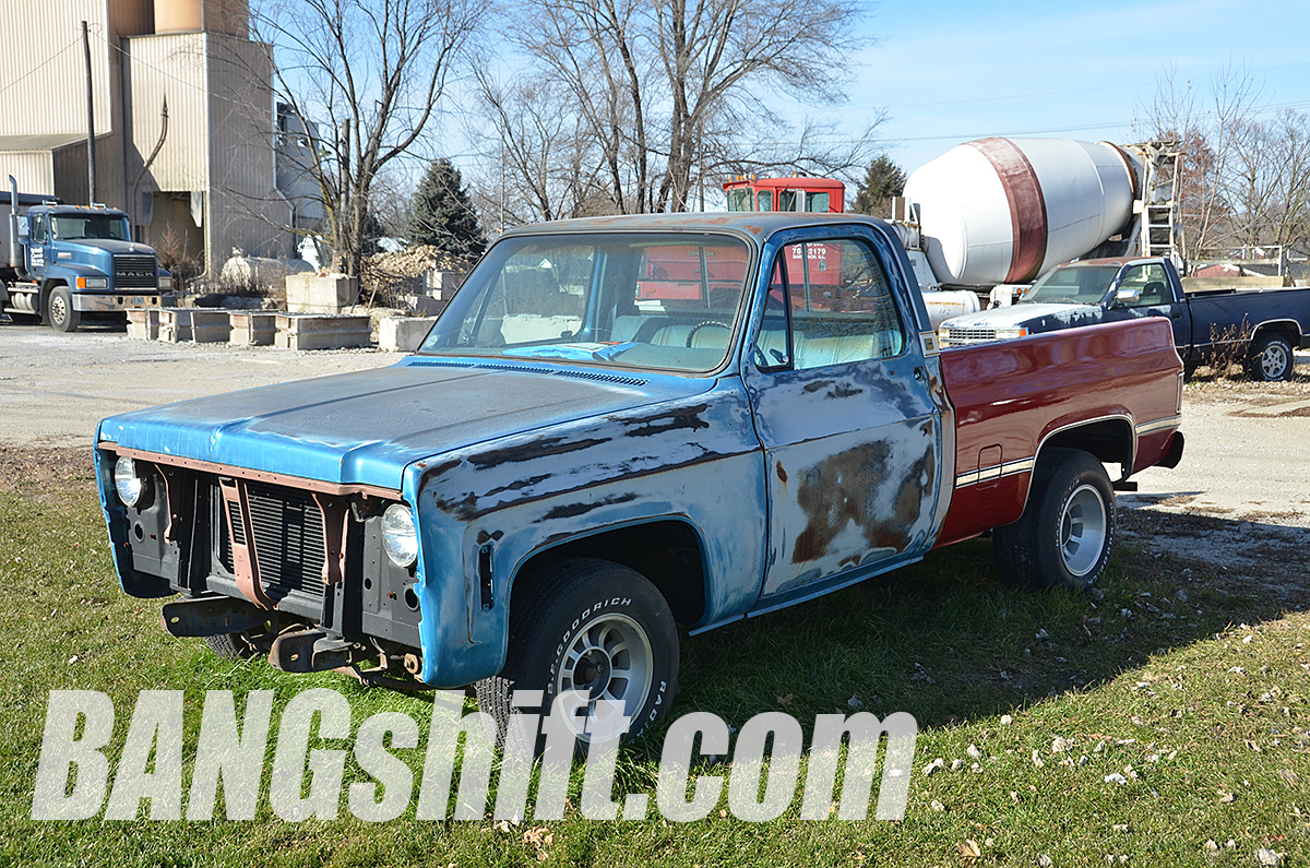 Bangshift Com This Solid Beater Square Body Chevy Could Be Hot Rod Sleeper Greatness Bangshift Com