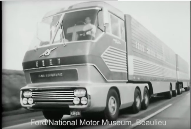 Vintage Promotional Video Win: Watch Ford's Big Red Turbine Big Rig In Action