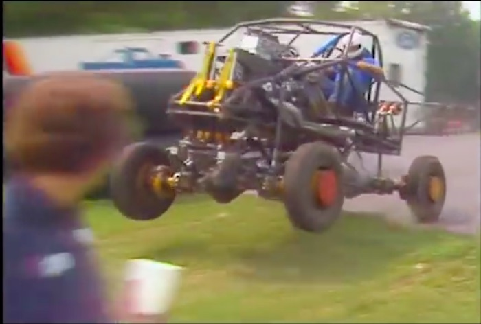 Awesome Video: In 1989 Testing A Cutting Edge Bigfoot Monster Truck Meant Jumping It Over Parking Lot Curbs