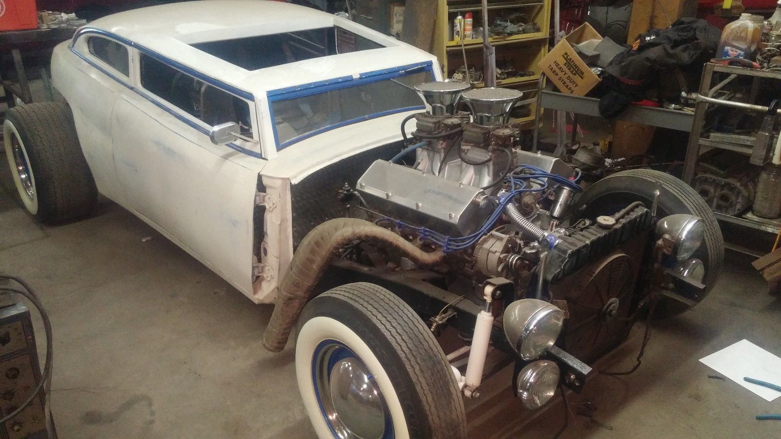 This 1947 Ford Rat Rod Is A One-Off, One Of A Kind Runner…But Can You Drive It?