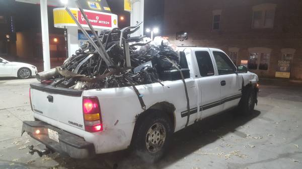 """Craigslist Hilarity: Meet The $800 2001 Silverado """"King Of The Meth Lab Edition"""" – This Is All Time"""