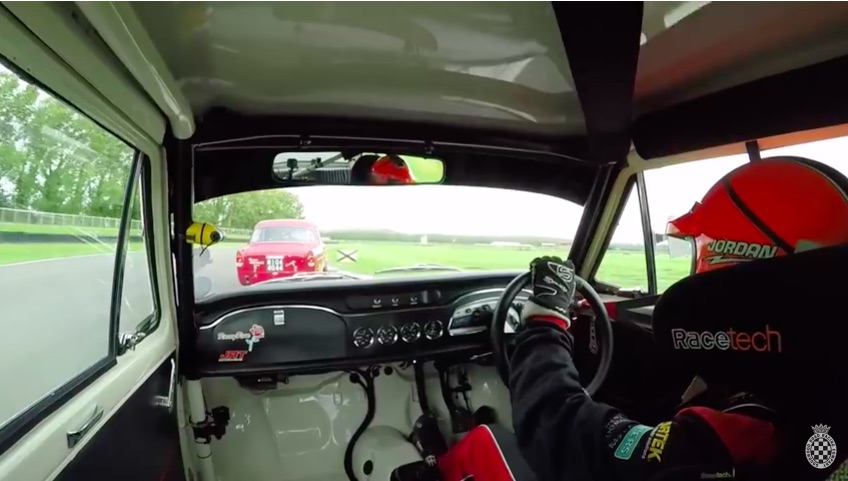 The Turkey Carving Shift: Ride Inside The Cars For Some Fun Touring Car Action At The Goodwood Revival