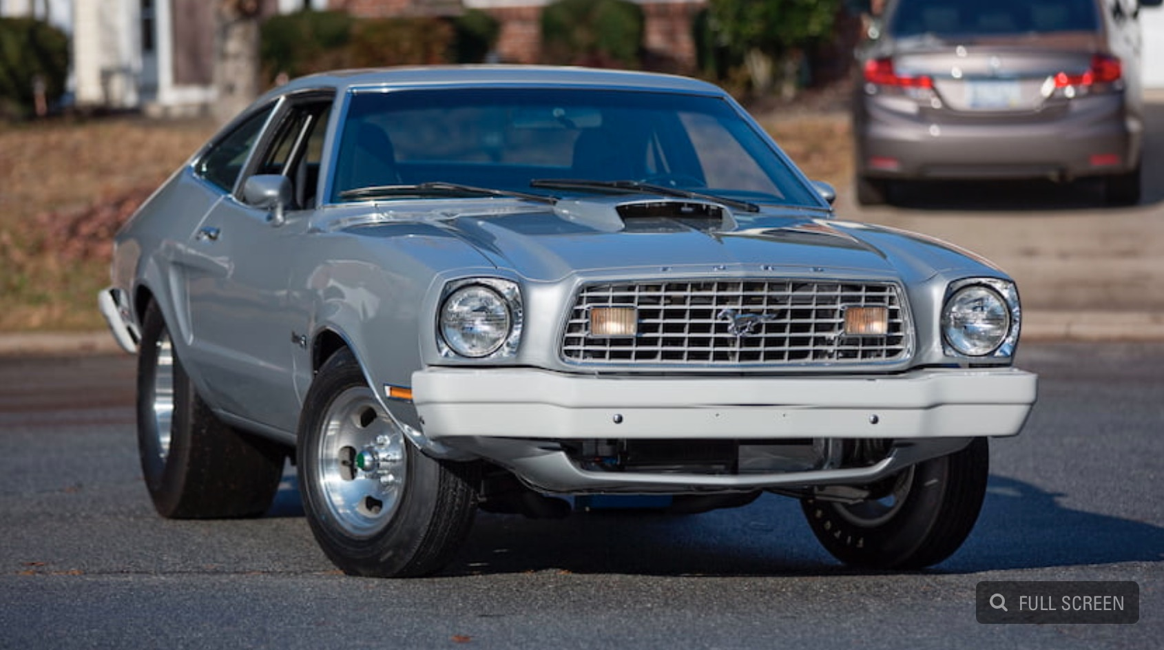 "Money No Object: The ""Sudden Death"" 1975 Ford Mustang II Is Going Up For Auction!"