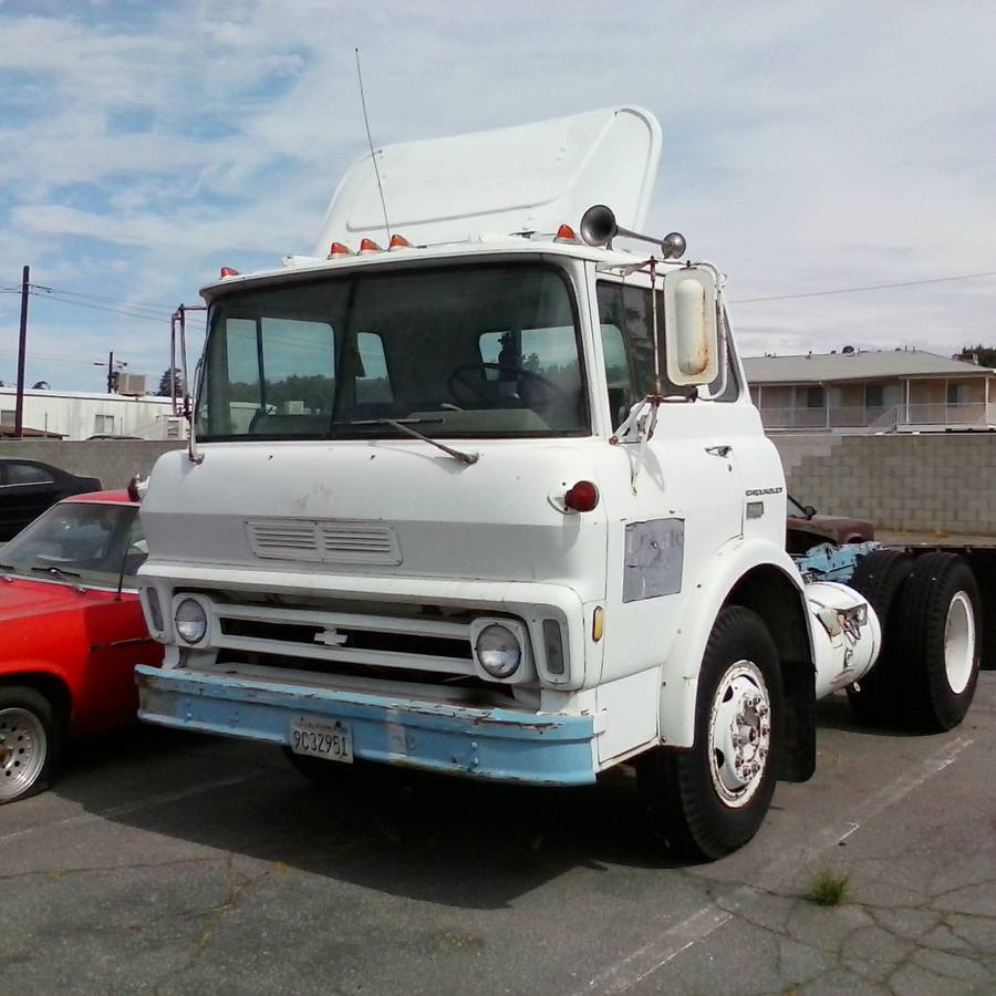 We Would LOVE To Make This 1972 60 Series Chevy Cab Over Into One Hell Of A Ramp Truck