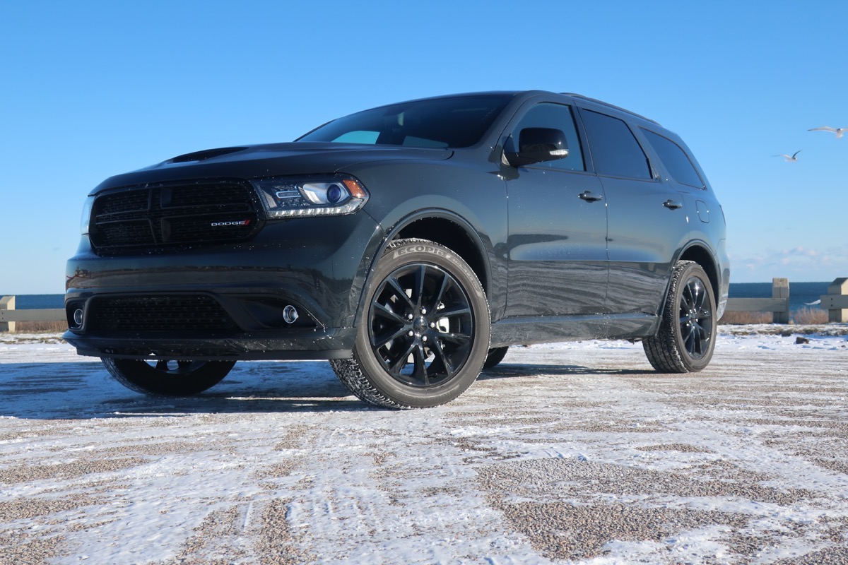 2018 dodge durango gt blacktop awd test drive