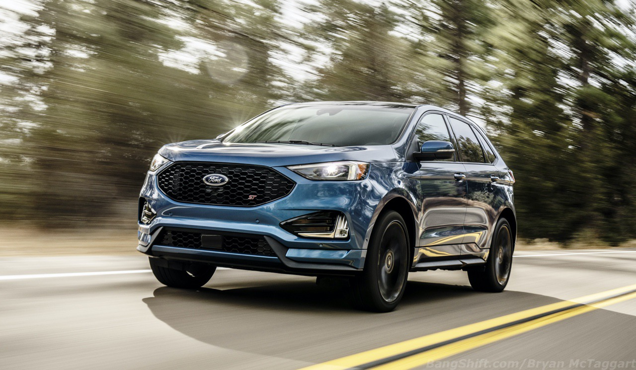 Unveiled: 2019 Ford Edge ST – Putting A Sharper Tone To Ford's Mid-Size SUV