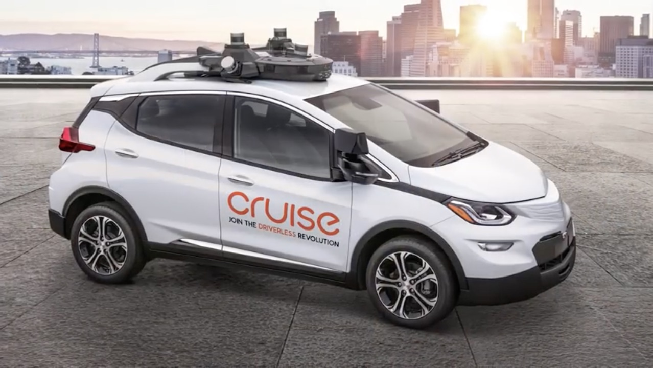 Oh, No, It's Here: Meet The General Motors Cruise AV, The First Vehicle Without Manual Controls