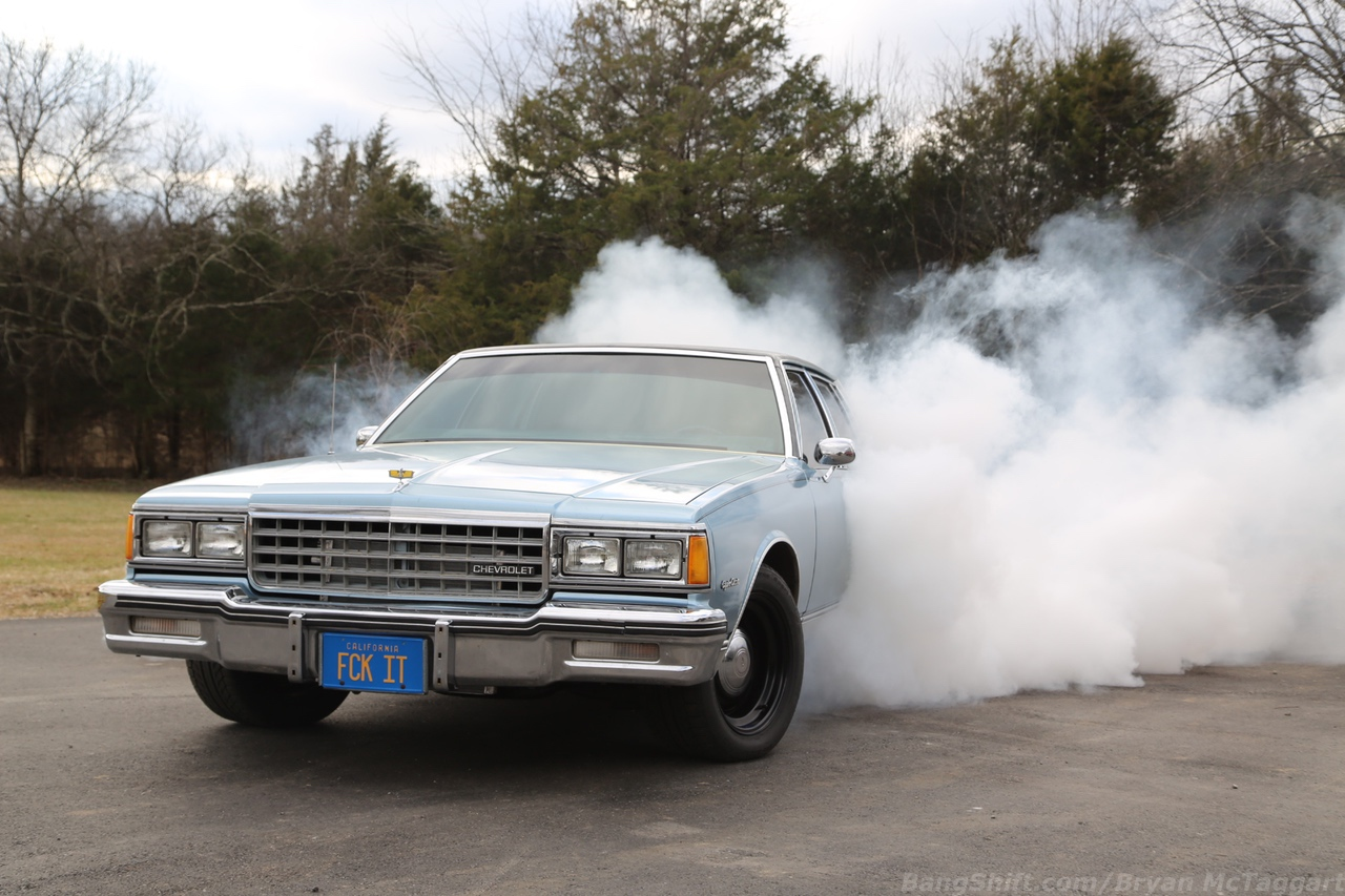 So Innocent, Yet So Guilty: This 1985 Chevrolet Caprice Is Church-Fresh And Country Boy Wild!