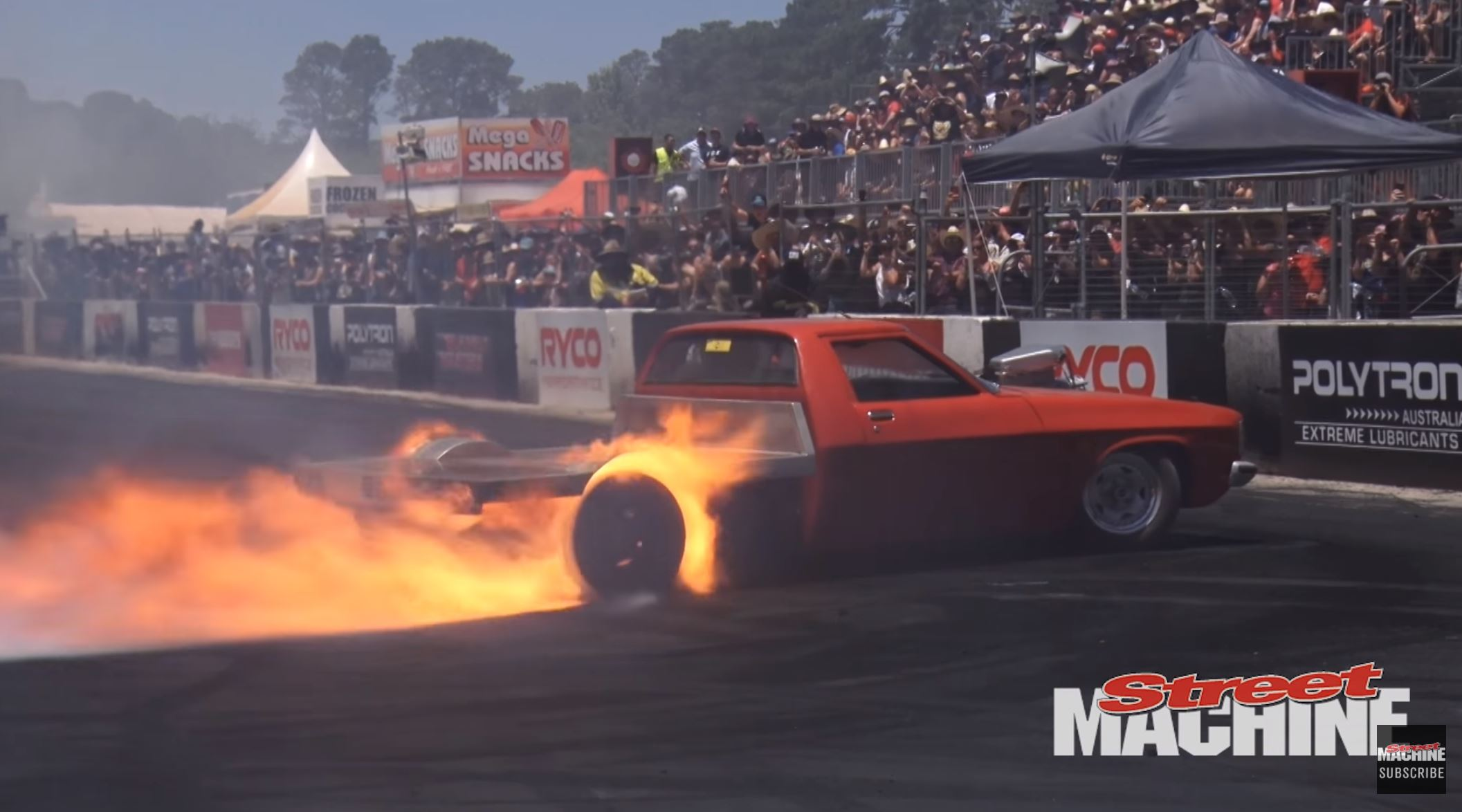 You Want Smoke And Fire? Here Is Your Summernats Burnout Highlight Reel!