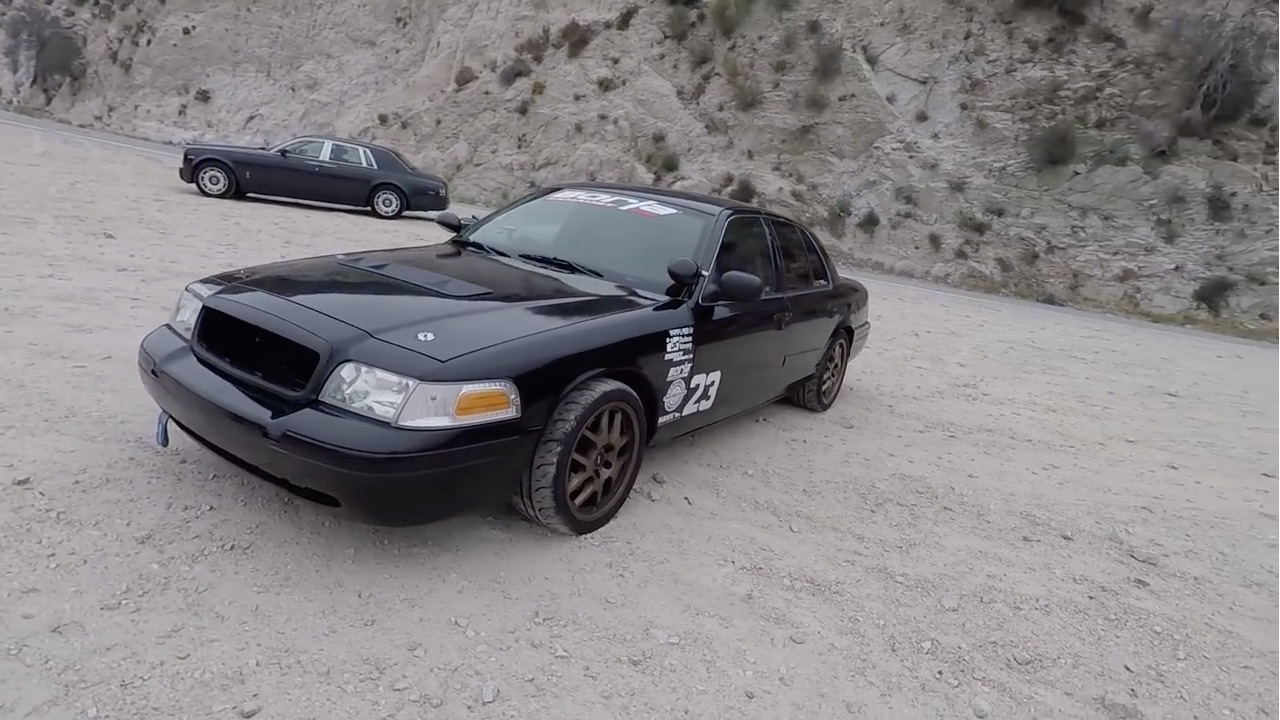 Panther Bodies Built To Run Rock! Check Out This Autocross-Built Ford Police Interceptor!