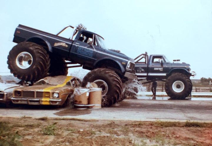 Remember Bigfoot and USA-1 Racing Down Lanes of Crushed Cars At Gateway Motorsports Park In 1983? Let This Video Remind You