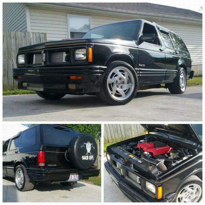 BangShift com Ye Old Ripper: This 1994 Oldsmobile Bravada Is