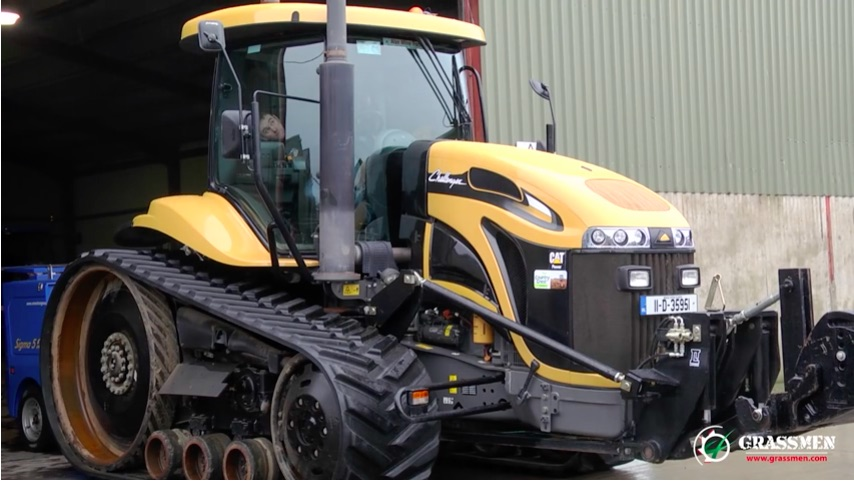 Watch This Caterpillar Challenger Tractor Twist The PTO Dyno HARD – Grunt Force