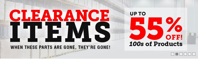 OPGI Is Having A Clearance/Overstock Sale – The Parts List Is Long And The Discounts Deep