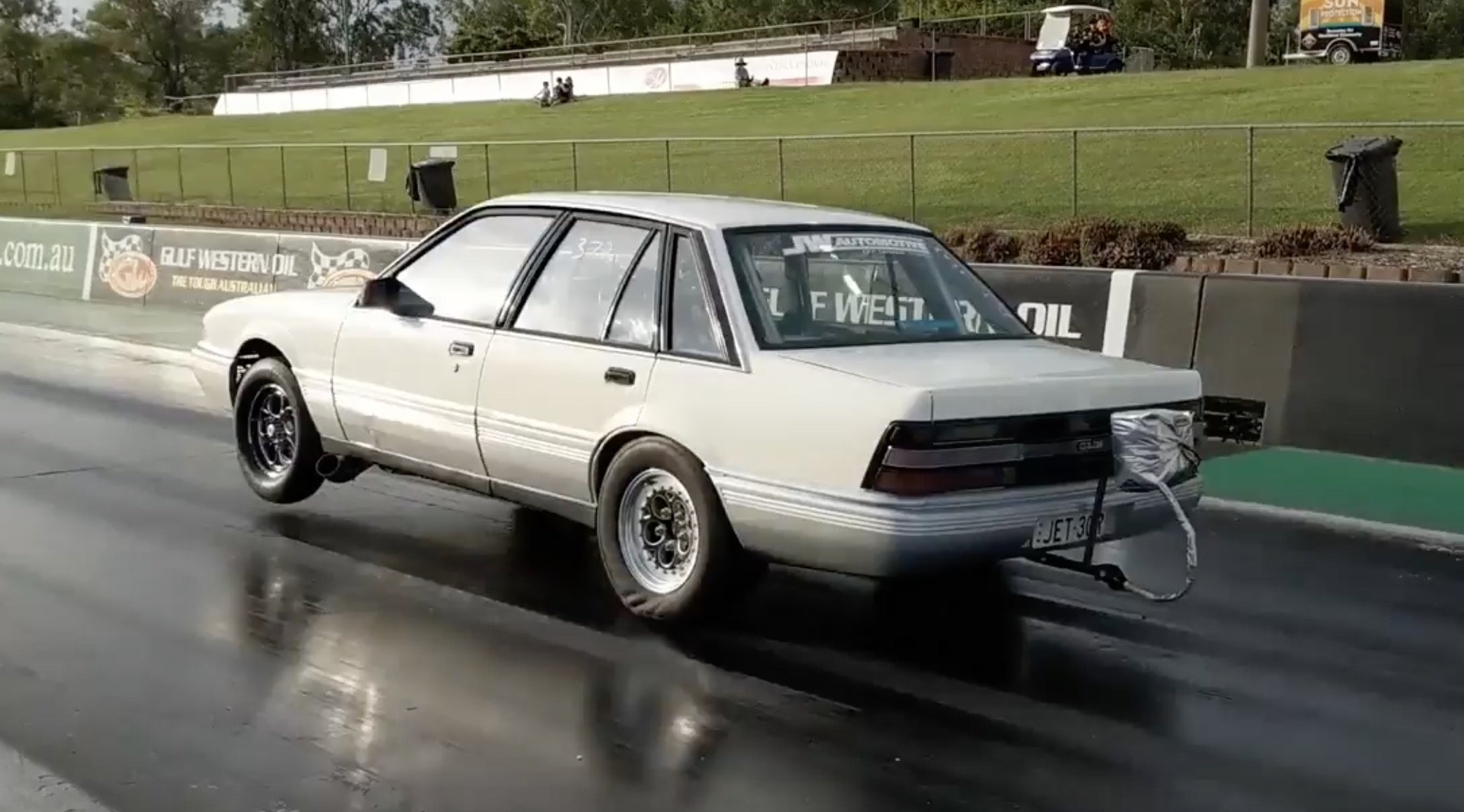 BangShift com Testing For Sevens: This Holden VL Cuts The Number On