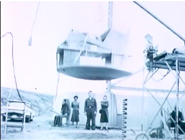 Cool Historic Video: Project Mercury Couch – Or How To Make A 49G Landing Pillow Soft