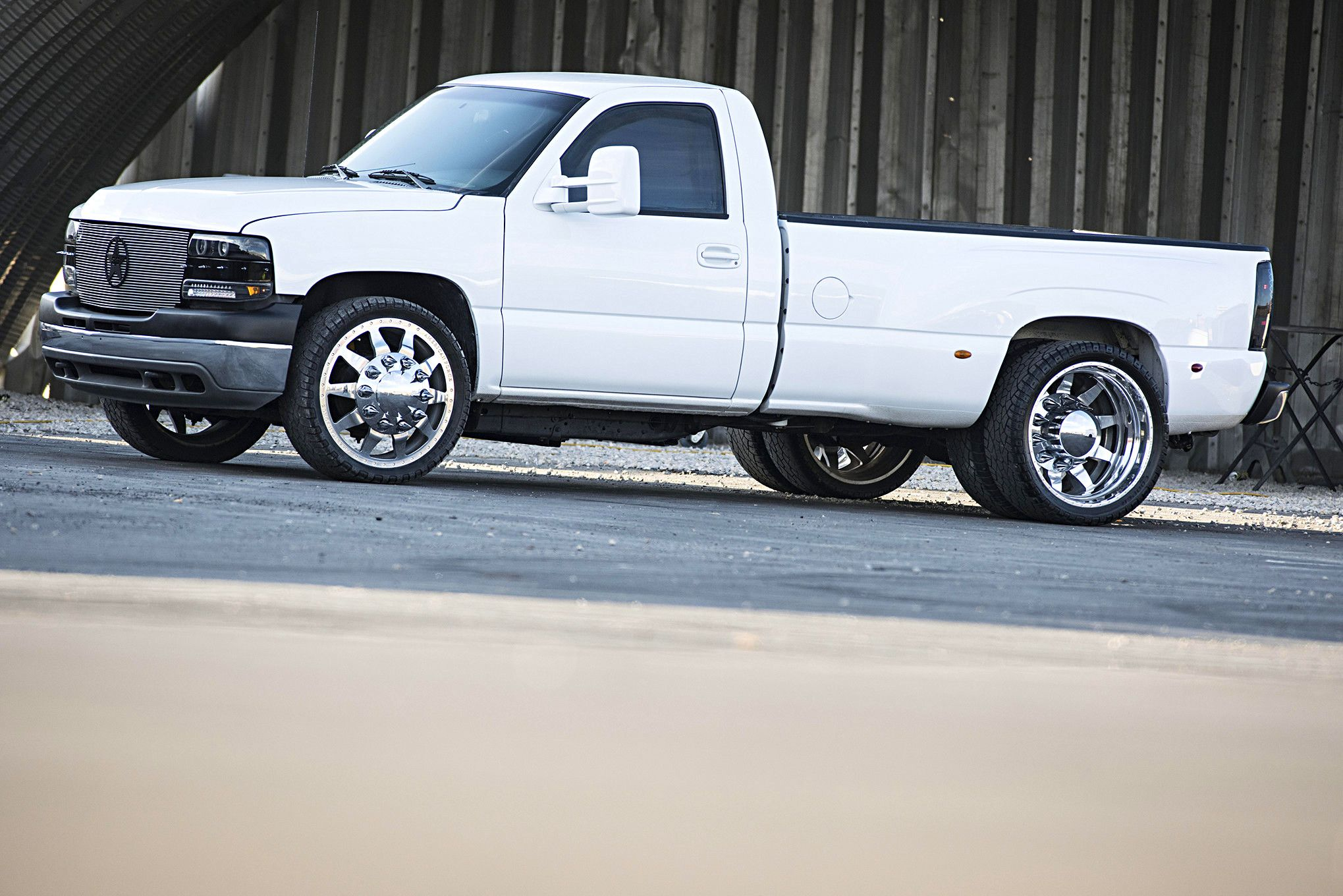 My Kinda of Dually: This 2003 Chevrolet Is A Duramax Powered, Single Cab, Stick Shifted, Unicorn Of A Truck