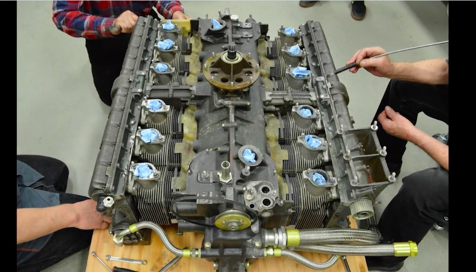 Best of 2018: Watch The Speedy Restoration Of A Porsche 917 Flat 12 Engine