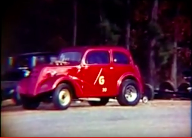 Classic Drag Racing Film: Awesome Action At Southeastern Dragway In 1968