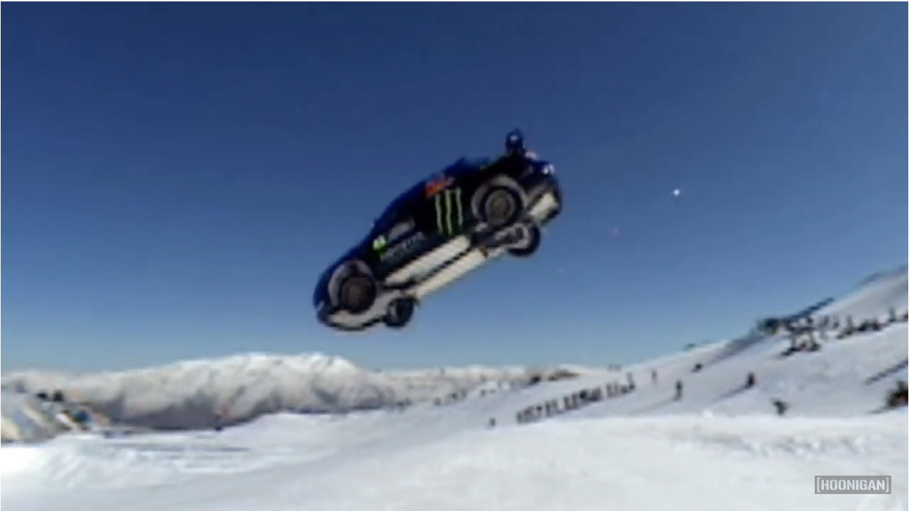 Find The Good Parts Of Snow And Ice With A Review Of Ken Block's Cold-Weather Shenanigans