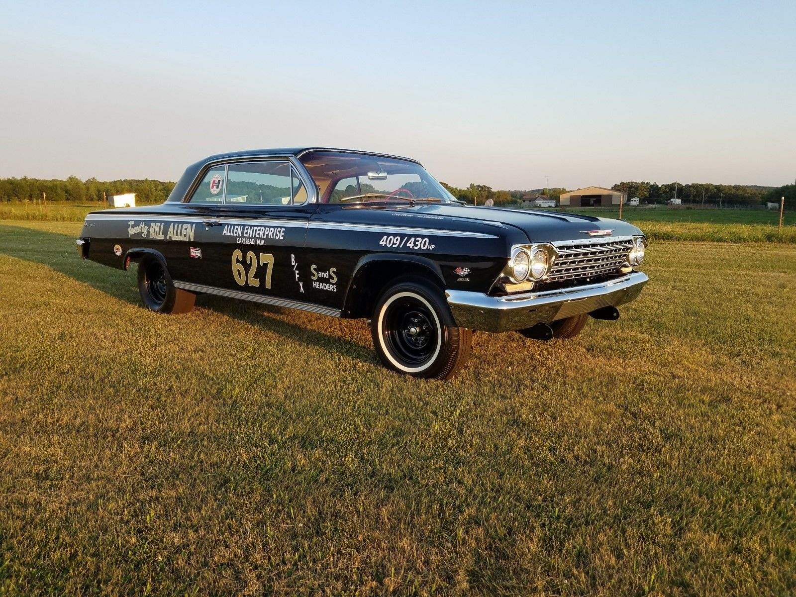 This Concours Restored 1962 Chevrolet Impala Z-11 Is An Amazingly Nice Piece Of Drag Racing History