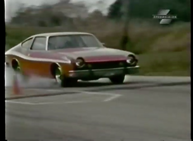 Watch A 1974 AMC Matador Get Hammered At The Track and Then Panned By The Critics