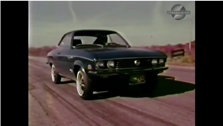 This Car and Track Video Review Of A 1973 Opel Manta Luxus Is Awesome