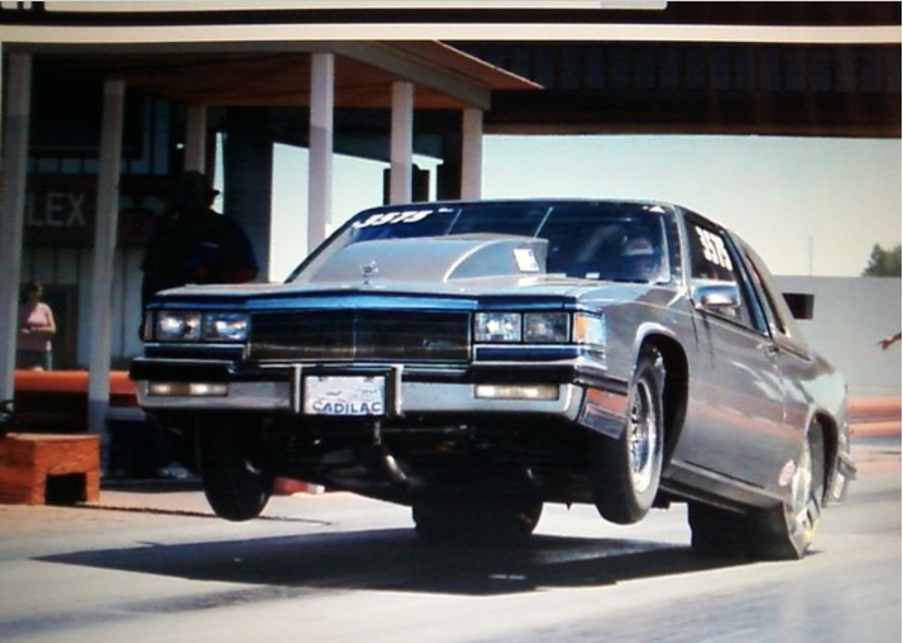 Malaise Monster: Somebody Please Get This 1985 Cadillac Coupe de Ville Racer Back On The Track!