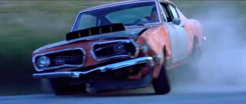 Battered Barracuda: Check Out This Tribute To The Bashed Barracuda In The Awful Movie Highwaymen