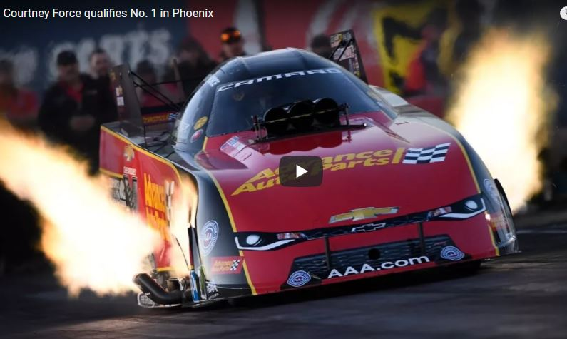 Video: Courtney Force And Deric Kramer Shake Up Final Qualifying Order At NHRA Arizona Nationals