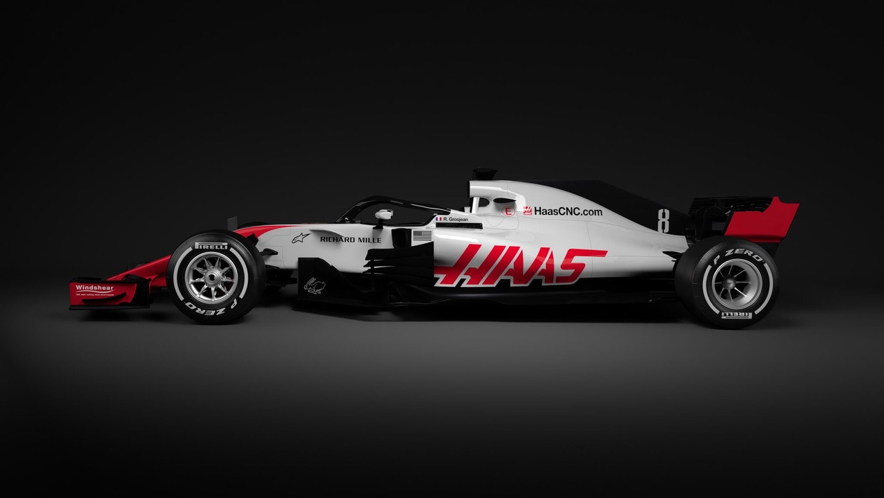 Haas VF-18 First Out The Gate For 2018 FIA Formula One World Championship!