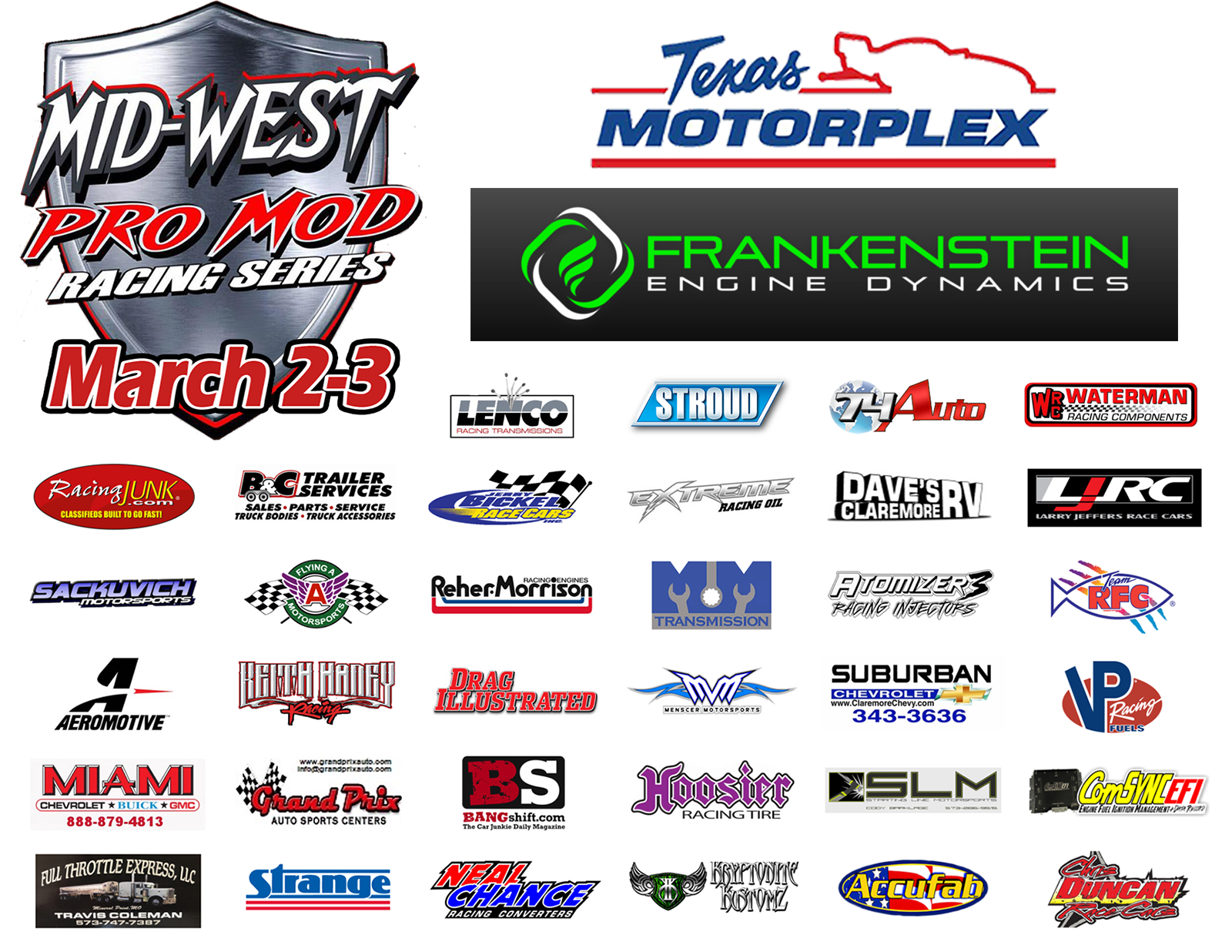 Mid-West Pro Mods Are LIVE On BANGshift Continues TODAY From The Texas Motorplex – Watch Here!