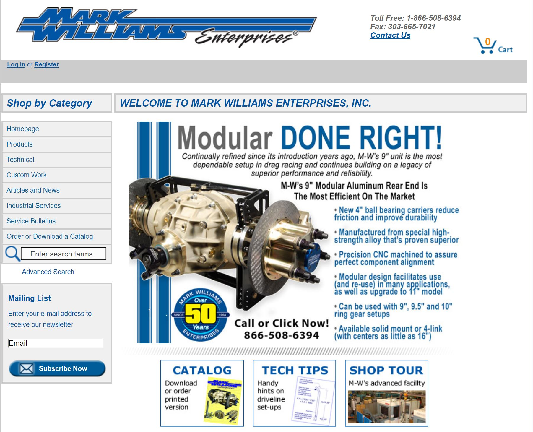 Mark Williams Enterprises Launches A Whole New Website. Check It Out!