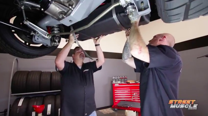 Install Video: Here's How Easily A Rick's RestoMod Tank Installs Into A First Gen Camaro