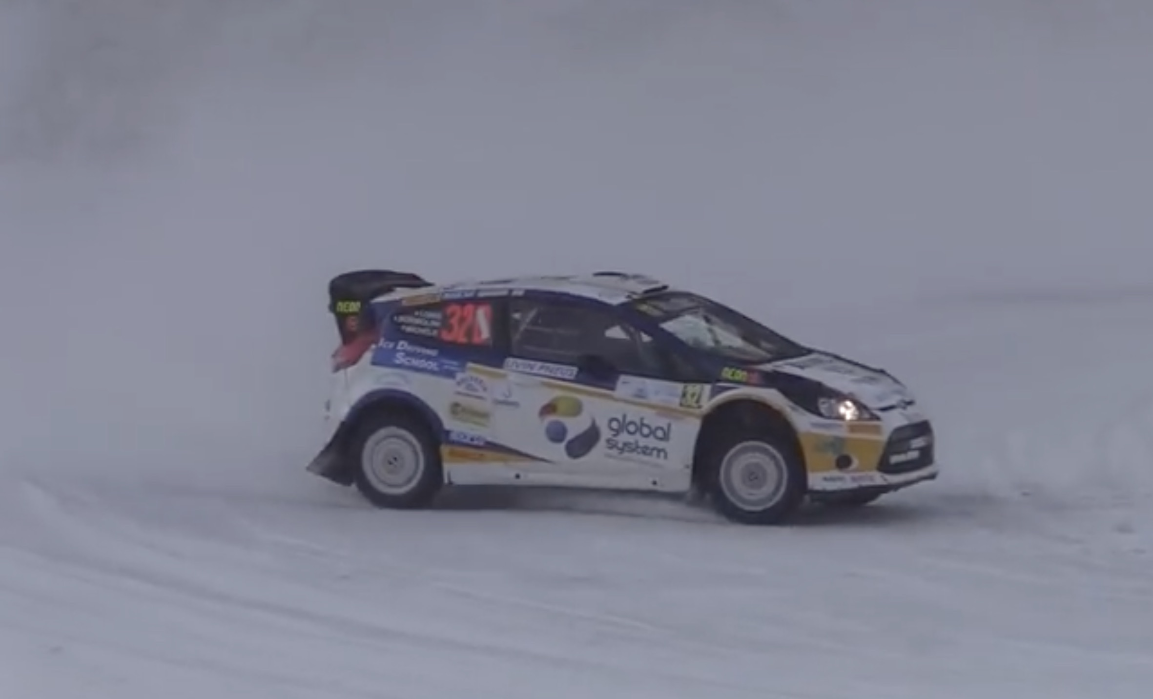 Morning Symphony: Retired Rally Cars On Snow! Watch As A Ford Focus RS, Ford Fiesta WRC And Peugeot 206 Go Play!