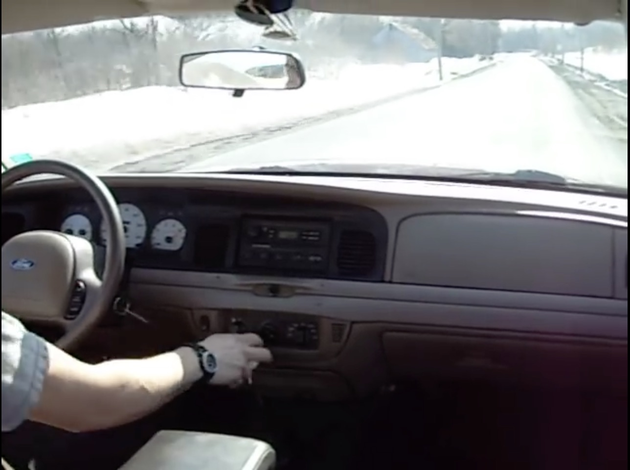 Classic YouTube: Making Noise In A Five-Speed Crown Victoria