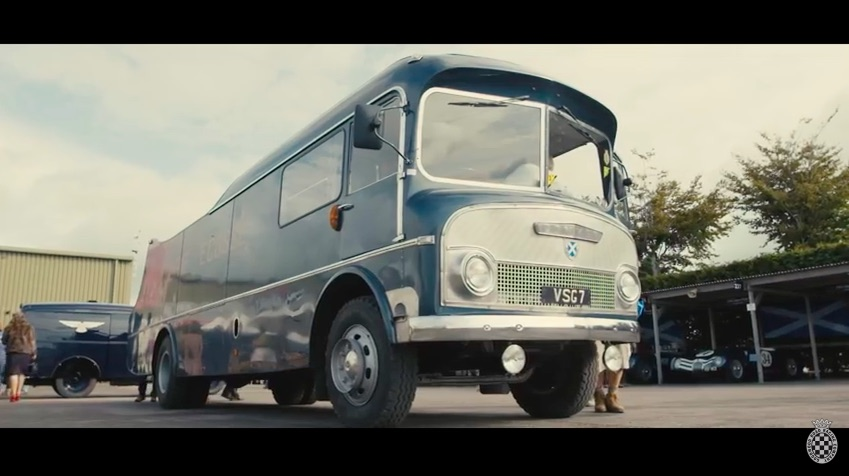 Coolest Race Car Transporter Ever? The Restored Ecurie Ecosse Bus Hauler Is Absolutely Amazing