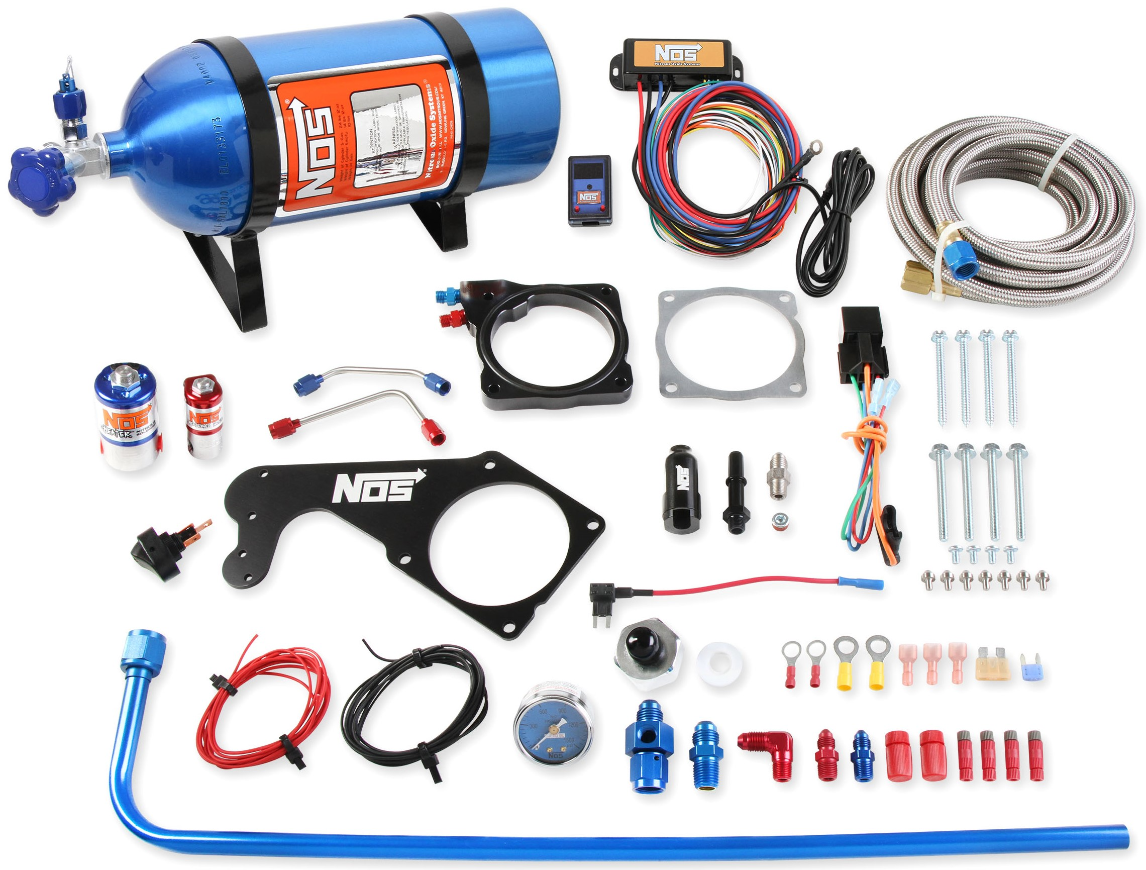 Nitrous Oxide Systems And MSD Now Have A Complete Nitrous Kit For Your Late-Model Hemi-Powered Mopar LX!