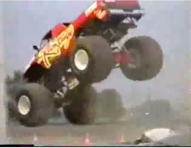 Monster Carnage Video: Check Out This 4-Minute Compilation Of Monster Truck Crashes From The Old PENDA Series!