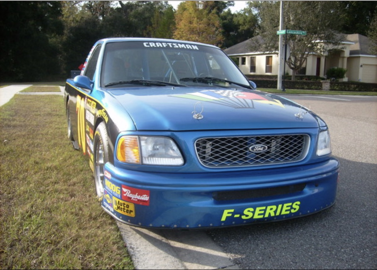 Money No Object: Have Your Race Car For The Street With This Legalized Craftsman Truck F-150!