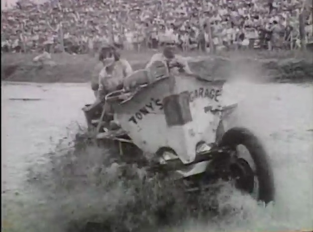 Vintage Swamp Buggy Fun: This 1964 Video Shows The Swamp Queen Getting Dunked And Not Really Digging It