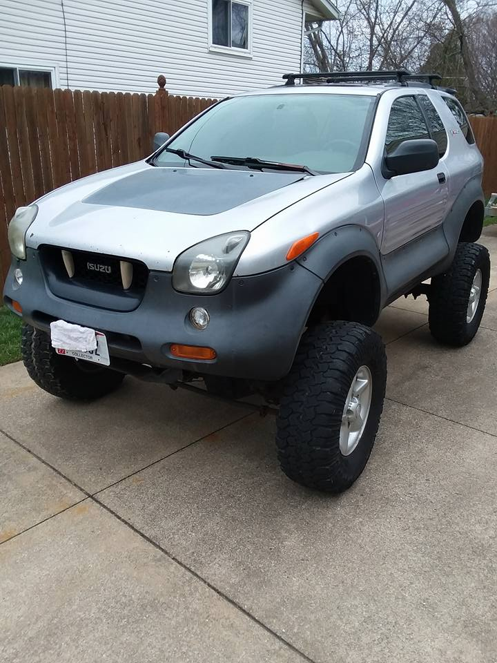 Extreme Weirdness: What Would You Do With A Dodge 360-swapped Isuzu VehiCROSS?