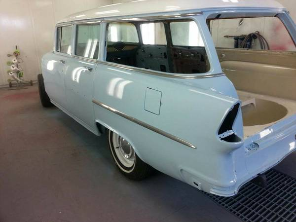 This 1955 Chevy Could Be The Wagon Of Your Dreams – Or It Could Remind You Of A Bad Decision…Or Both