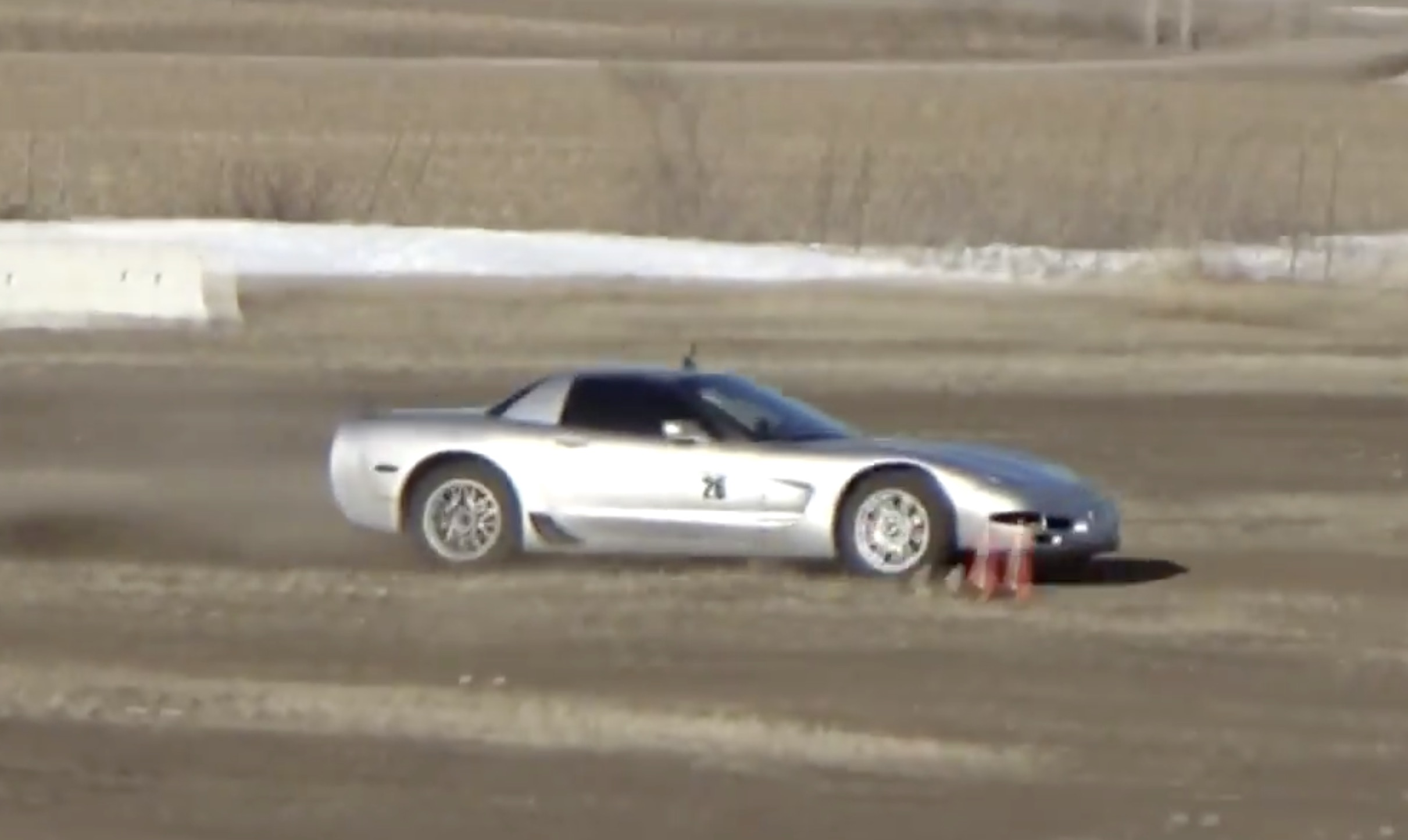Rallycrossing A Corvette…Blasphemy Or Beautiful? Watch This C5 Z06 Rallycross On Some Frozen Dirt!